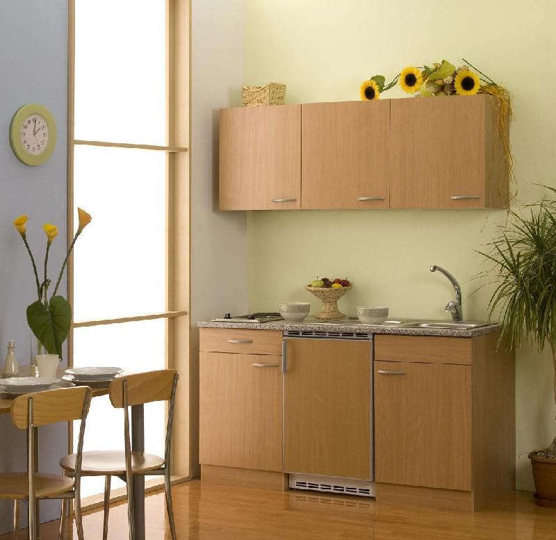 Küchenzeile Buche Blau ~ junior minikÜche kÜchenzeile pantrykÜche buche 150cm kühls a +7 farben lieferb ebay