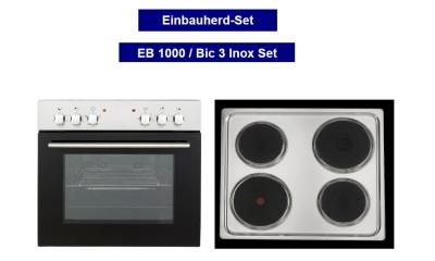 respekta einbauherd set eb 6000 ix. Black Bedroom Furniture Sets. Home Design Ideas