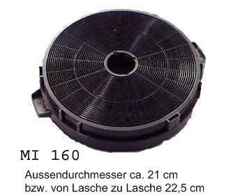 respekta Aktivkohlefilter MI 160 N