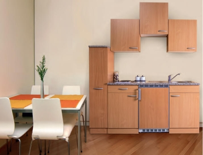 Küchenblock 180 KB180BB Buche