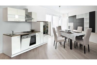 Küchenblock Küchenzeile 310 weiss KB310WW