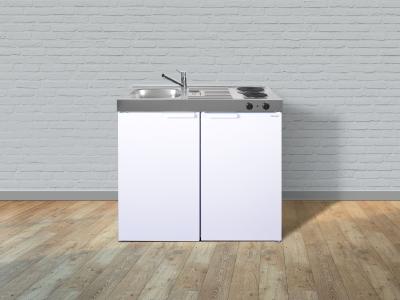 Miniküche MK 100 E-Pantry rechts Becken links