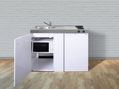 Miniküche MKM 120 E-Pantry rechts Becken links