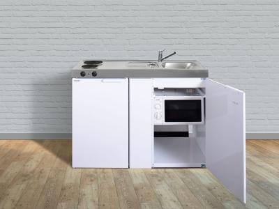 Miniküche MKM 120 E-Pantry links Becken rechts