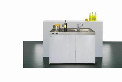Miniküche ME 120 Easyline E-Pantry links Becken rechts