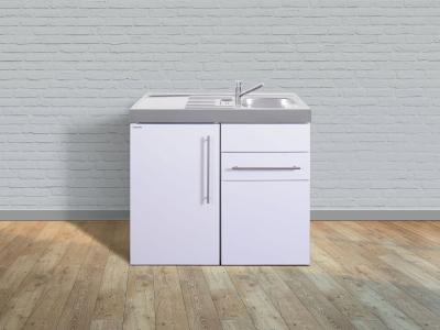 Miniküche MP 100S Tee Pantry links Becken rechts