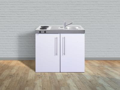 Miniküche MP 100 E Pantry links Becken rechts