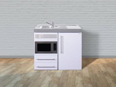 Miniküche MPM 100 Tee Pantry rechts Becken links Mikrowelle