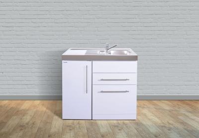 Miniküche MPGS 100 Tee Pantry links Becken rechts Geschirrspüler