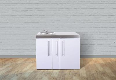 Miniküche MP 110A Tee Pantry rechts Becken links Apothekerauszug