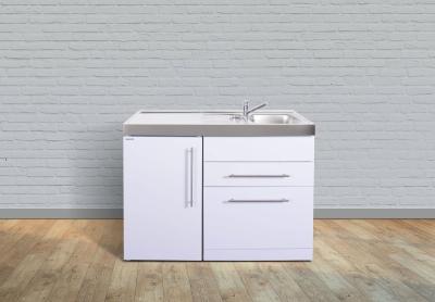 Miniküche MPGS 120 Tee Pantry links Becken rechts Geschirrspüler