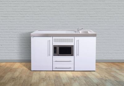 Miniküche MPM 150 Tee Pantry links Becken rechts Mikrowelle
