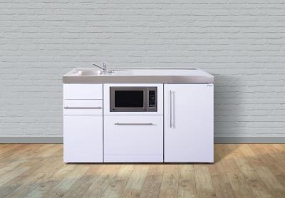 Miniküche MPGSM 150 Tee Pantry rechts Becken links Geschirrspüler