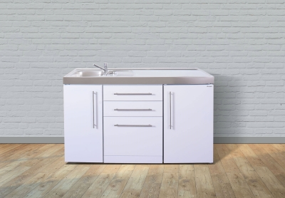 Miniküche MPGS 150 Tee Pantry rechts Becken links Geschirrspüler