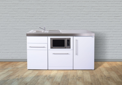Miniküche MPGSM 160 Tee Pantry rechts Becken links Geschirrspüler