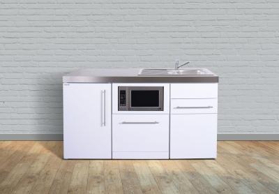 Miniküche MPGSM 160 Tee Pantry links Becken rechts Geschirrspüler