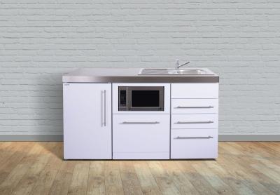 Miniküche MPGSMS3 160 Tee Pantry links Becken rechts Geschirrspüler