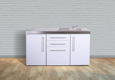 Miniküche MPGS 160 Tee Pantry links Becken rechts Geschirrspüler