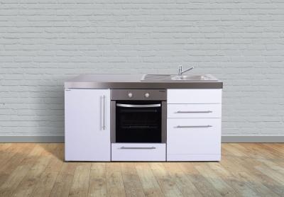 Miniküche MPBGS 170 Tee Pantry links Becken rechts Geschirrspüler