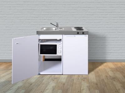Miniküche MKM 100 E-Pantry rechts Becken links