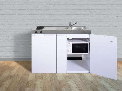 Miniküche MKM 120A E-Pantry  links Becken rechts mit Apotherkerauszug