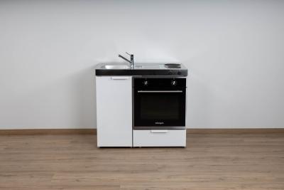 Miniküche MKB 100 E Pantry rechts Becken links mit Backofen