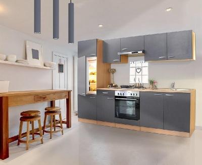 Küchenblock 270 Grau LBKB270BG