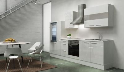 Küchenblock RP300WWC weiss hochglanz