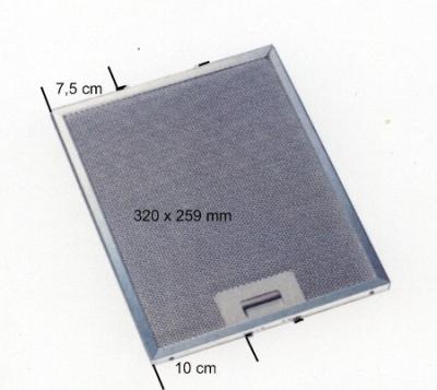 Metall Fettfilter MI 051