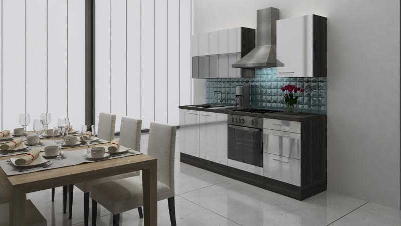 respekta k chenblock rp220ewc hochglanz weiss ohne k hlschrank. Black Bedroom Furniture Sets. Home Design Ideas