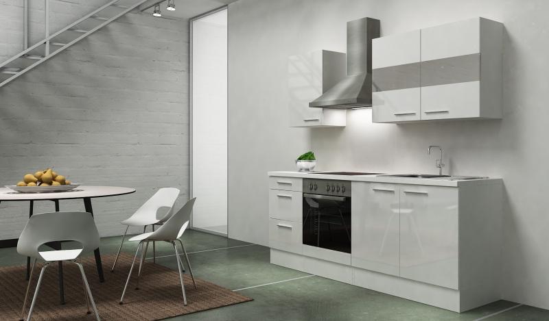 respekta k chenblock rp210wwc hochglanz weiss ohne k hlschrank. Black Bedroom Furniture Sets. Home Design Ideas