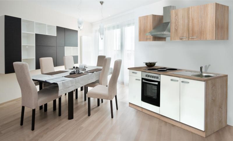 respekta k chenzeile kb210eswoes weiss ohne k hlschrank. Black Bedroom Furniture Sets. Home Design Ideas