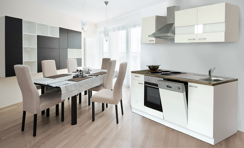 respekta küchenzeile kb220ww weiss ohne kühlschrank - Küchenzeile Ohne Kühlschrank