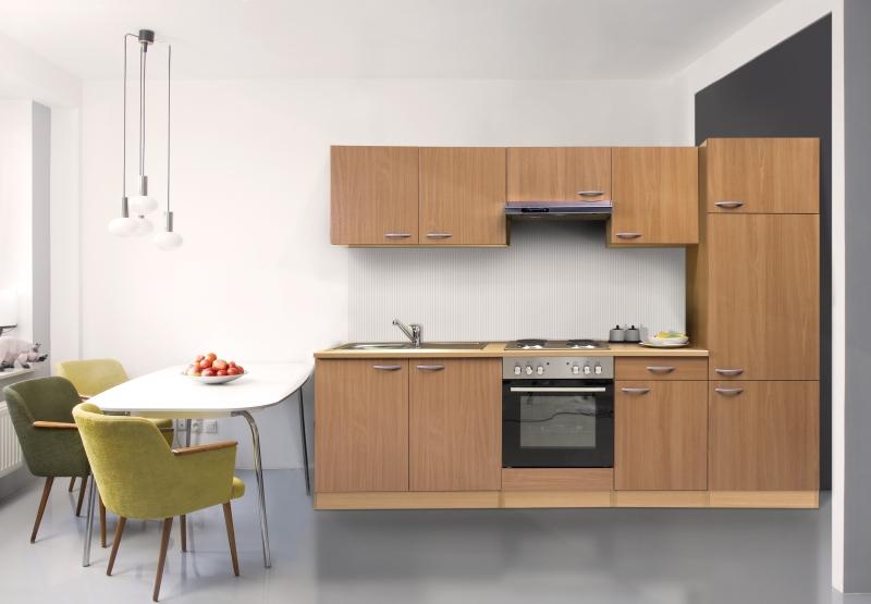 Küchenzeile Finanzieren ~ respekta küchenzeile kb270bbe buche