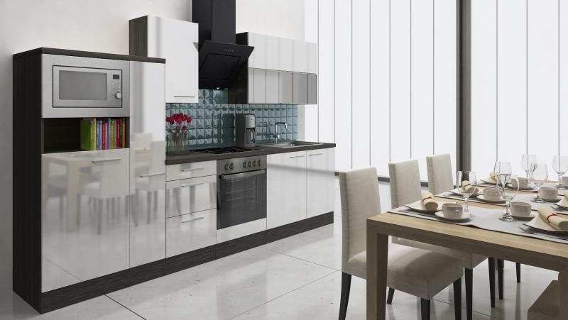 respekta k chenblock rp310ewcmis hochglanz weiss schr ghaube. Black Bedroom Furniture Sets. Home Design Ideas