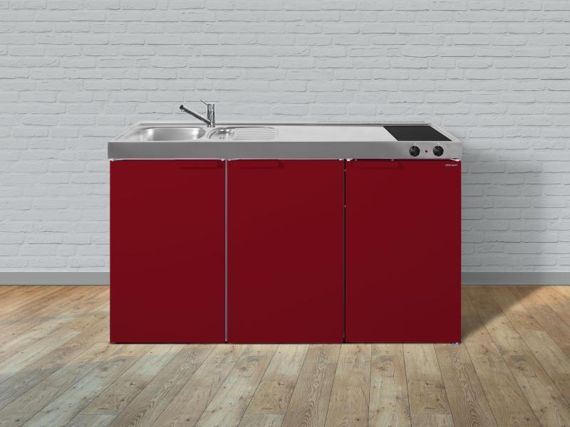 kleink che mk 150 glaskeramik kochfeld rechts becken links. Black Bedroom Furniture Sets. Home Design Ideas