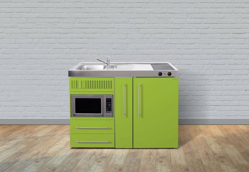 Miniküche Mit Kühlschrank Und Mikrowelle : Miniküche mpm a glaskochfeld rechts becken links mikrowelle