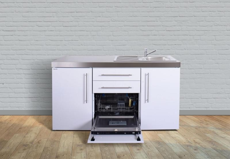 minik che mpgs 160 tee pantry links becken rechts geschirrsp ler. Black Bedroom Furniture Sets. Home Design Ideas