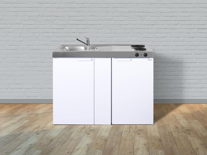 minik che kitchenline mk 120 von stengel mit 4 sterne liebherr weiss ebay. Black Bedroom Furniture Sets. Home Design Ideas