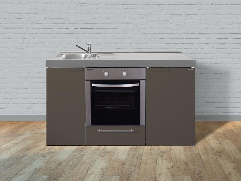 kleink che mkm 150 glaskeramik kochfeld rechts becken links mit mikrowelle. Black Bedroom Furniture Sets. Home Design Ideas