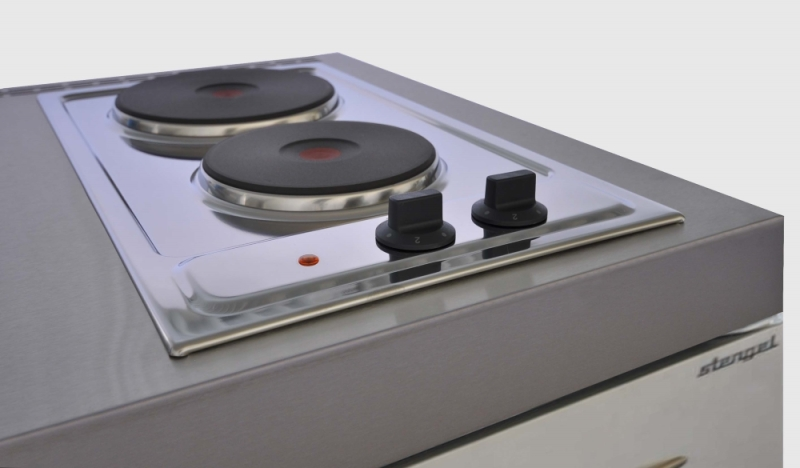 Miniküche mit backofen  Miniküche MPBGSES 170 E Pantry Kühlschrank Backofen Geschirrspüler