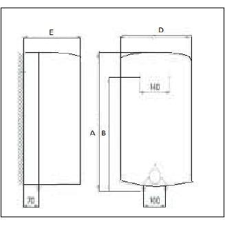 warmwasserboiler gt 15od druckfest gorenje