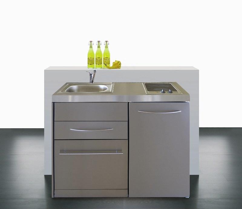 Miniküche  Miniküche MPGSES 120 Geschirrspüler E Pantry rechts Becken links