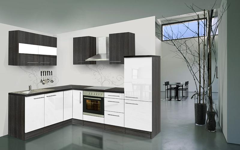 respekta l k chenzeile rp260ewcos 260x200 cm eiche hochglanz. Black Bedroom Furniture Sets. Home Design Ideas