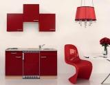 Küchenblock 150 KB150BR BucheFront rot