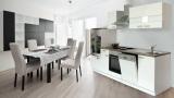 Küchenblock Küchenzeile 280 weiss KB280WW