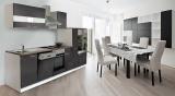 Küchenblock Küchenzeile 310 Grau KB310WG