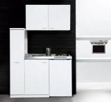 Küchenblock MK130WOSSV mit Kühlschrank