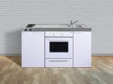 Miniküche MKB 150 E Pantry links Becken rechts mit Backofen