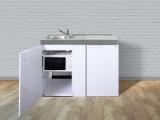 Miniküche MKM 120 Tee-Pantry rechts Becken links ohne Kochfeld